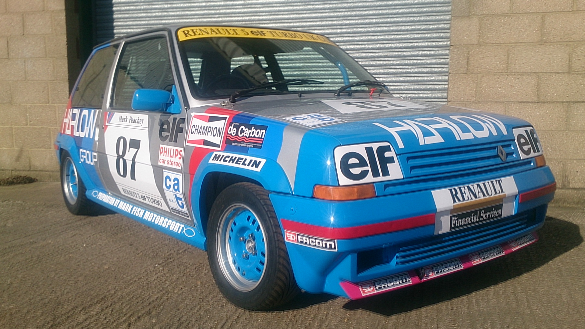 Renault 5gt Turbo Cup Rebuild Mark Fish Motorsport