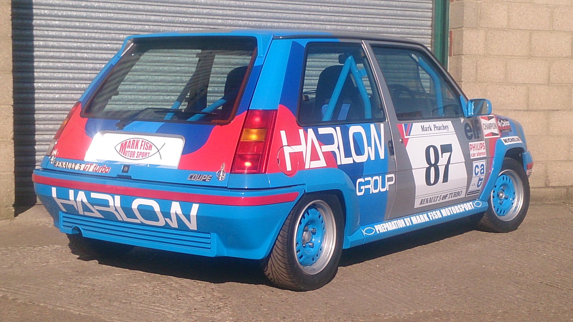 Mini Cup Car >> Renault 5GT Turbo Cup rebuild. | Mark Fish Motorsport